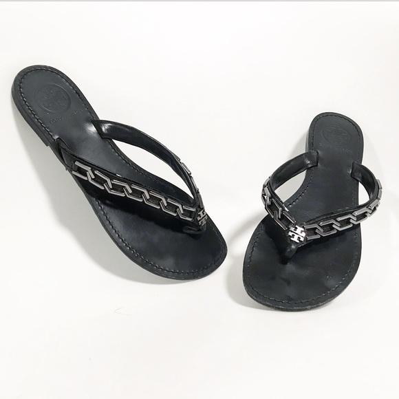 49983c6664880 Tory Burch. Clea chain thong sandal. Size 7.5. M 5bdbdb7fde6f620de753919c
